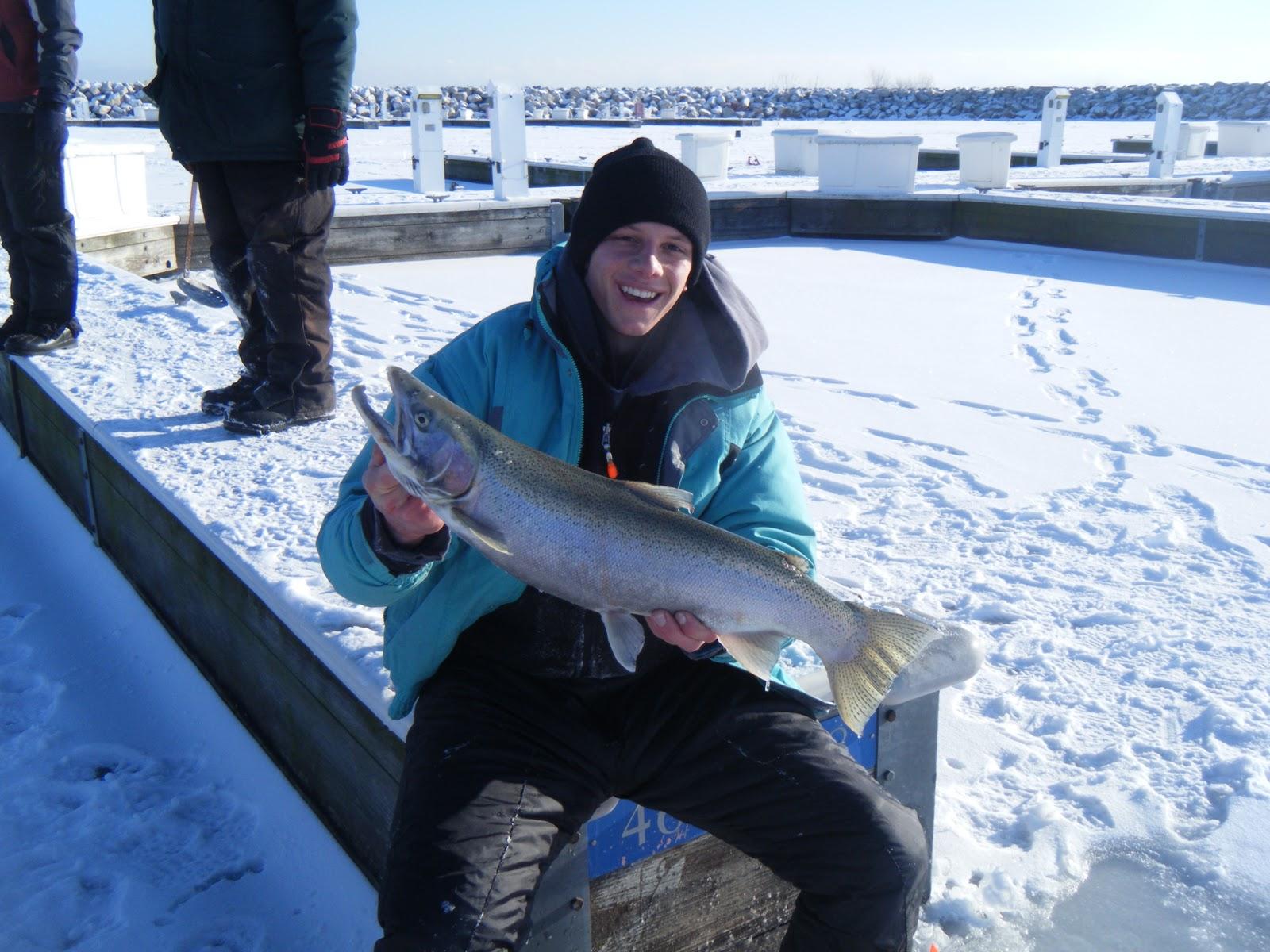 Wisconsin fishing reports 2012 sheboygan ice fishing for Fishing report wisconsin