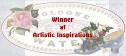 Winner Artistic Inspiration challenge nº166