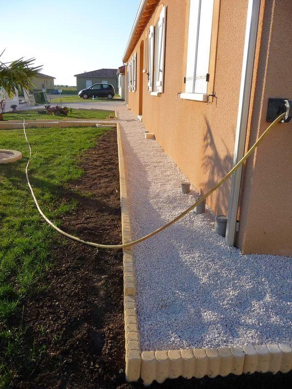 La grande aventure de la construction de notre maison - Drainage autour d une maison ...