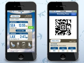 Alaska Airlines iOS app updated with mobile boarding pass