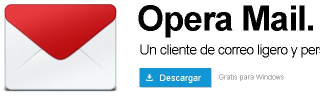 Opera Mail - Solo Nuevas