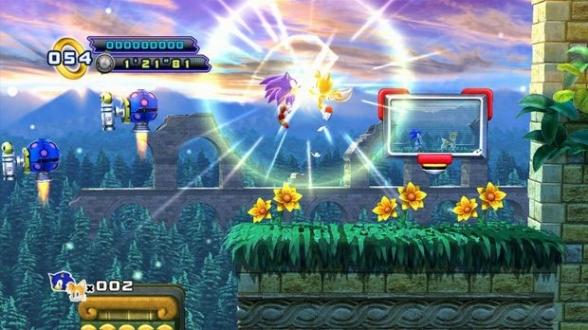 Aquatic Ruins Zone Sonic 4 Version