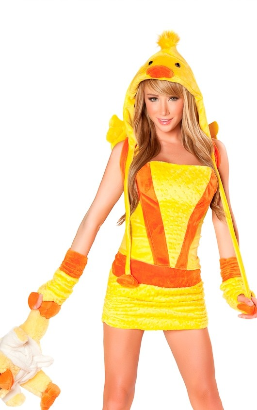 Sara Jean Underwood Yellow duck Cosplay photo