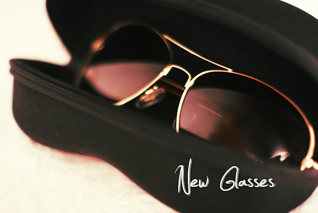 New glasses.