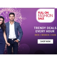Snapdeal Full on Fashion Sale Offer where you can get 40% off to 80% off + Cashback offer on Clothing, Footwear & Accessories