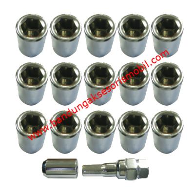 Baut Kijang / Innova / Avanza / Honda (12mmx1.50) Silver