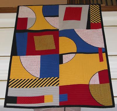 """Quilt exhibition in Alsace - Annette Claxton - """"Toro ! Toro"""""""