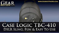 Case Logic TBC-410 DSLR Sling Camera Backpack, Fun & Easy To Use | Gear Review