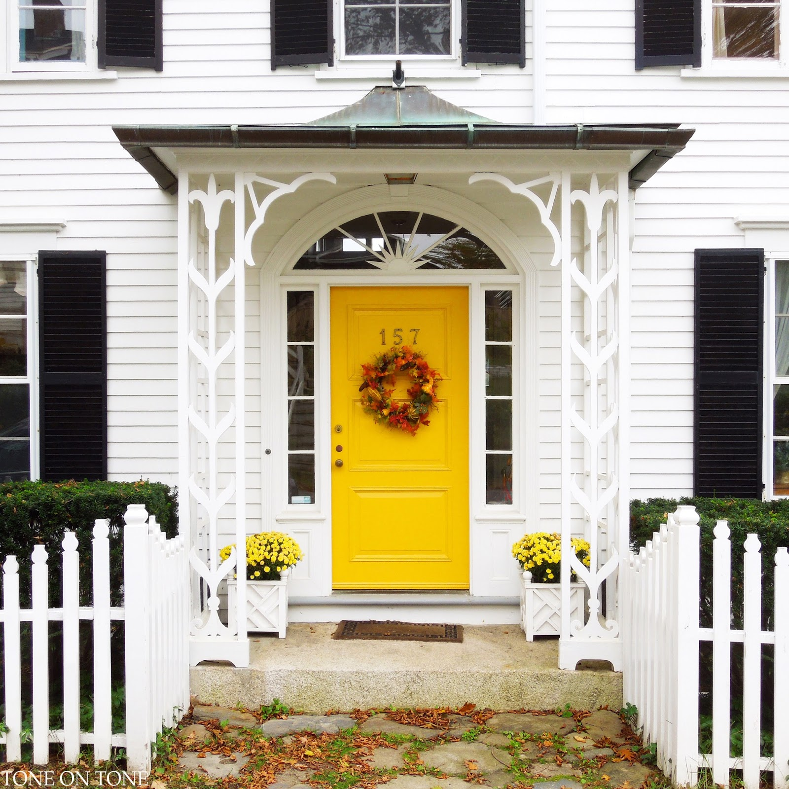 Yellow House Black Door black door white house | btca examples doors designs, ideas