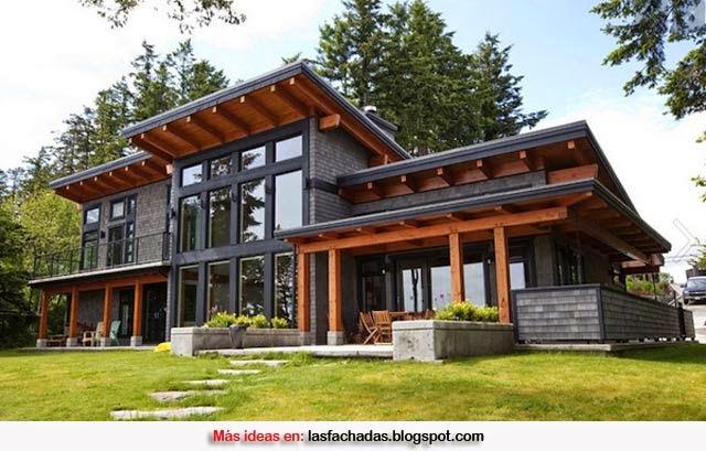 Fachadas de casas y casas por dentro febrero 2015 - Fachadas casas rusticas ...