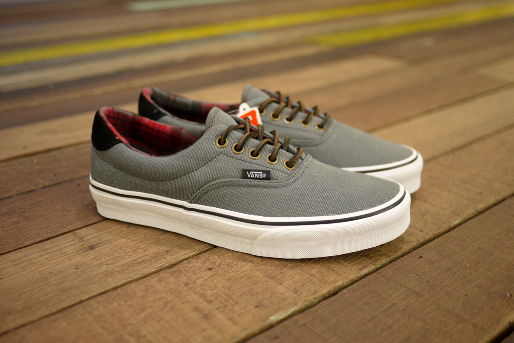 "CROSSOVER  VANS ERA 59 ""Canvas   Plaid"" pack 8268ee2402"