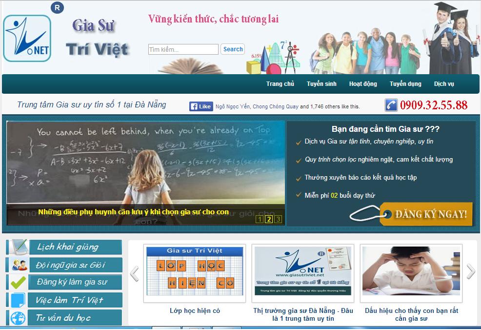 Template Blogspot Trung Tâm Gia Sư - Template Blogger Đẹp Chuyên Nghiệp