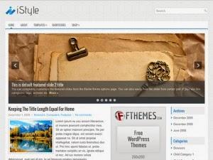 iStyle - Free Wordpress Theme