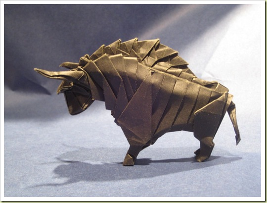 seni origami