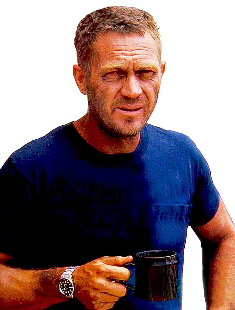 the steve mcqueen haircut. Black Bedroom Furniture Sets. Home Design Ideas