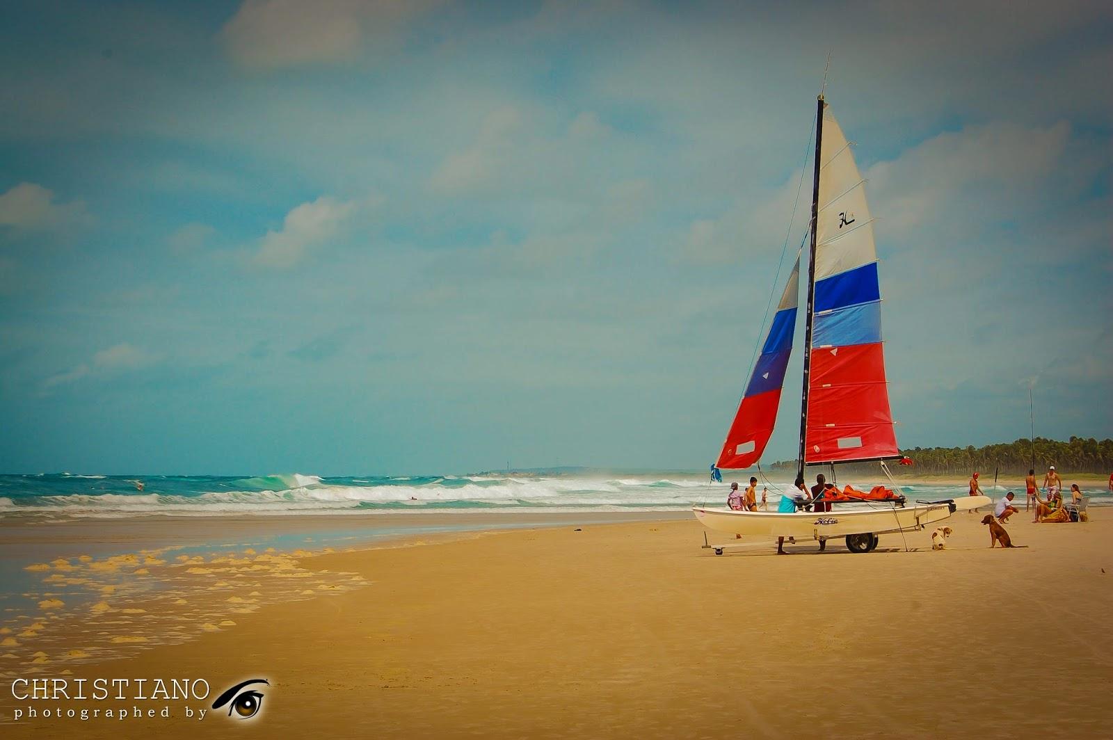 Barco a Vela - Praia do Francês - Maceió - Alagoas