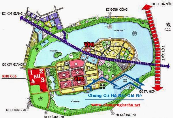 vị trí Khu đô thị Linh Đàm