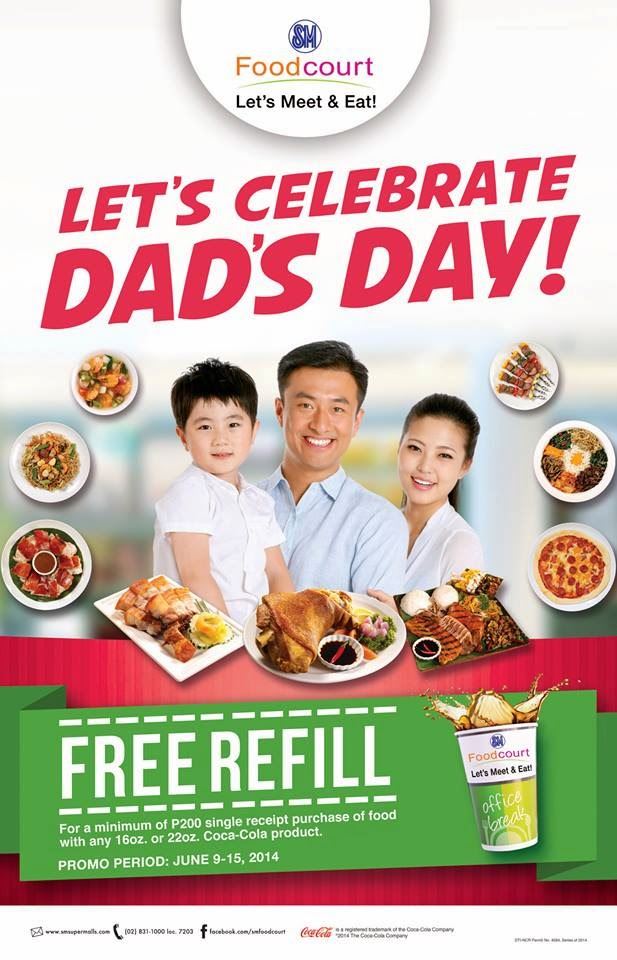 LET'S CELEBRATE DAD'S DAY!