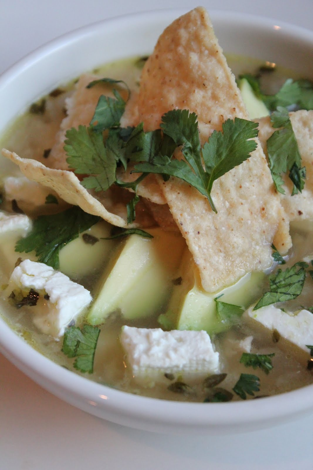 Wise Woman Builds Her Home: Chicken Soup with Lime and Hominy