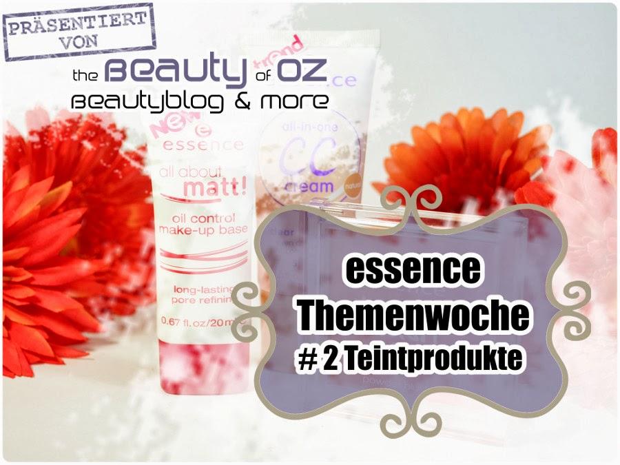 essence Neuheiten Frühjahr 2014 # 2 - Teintprodukte