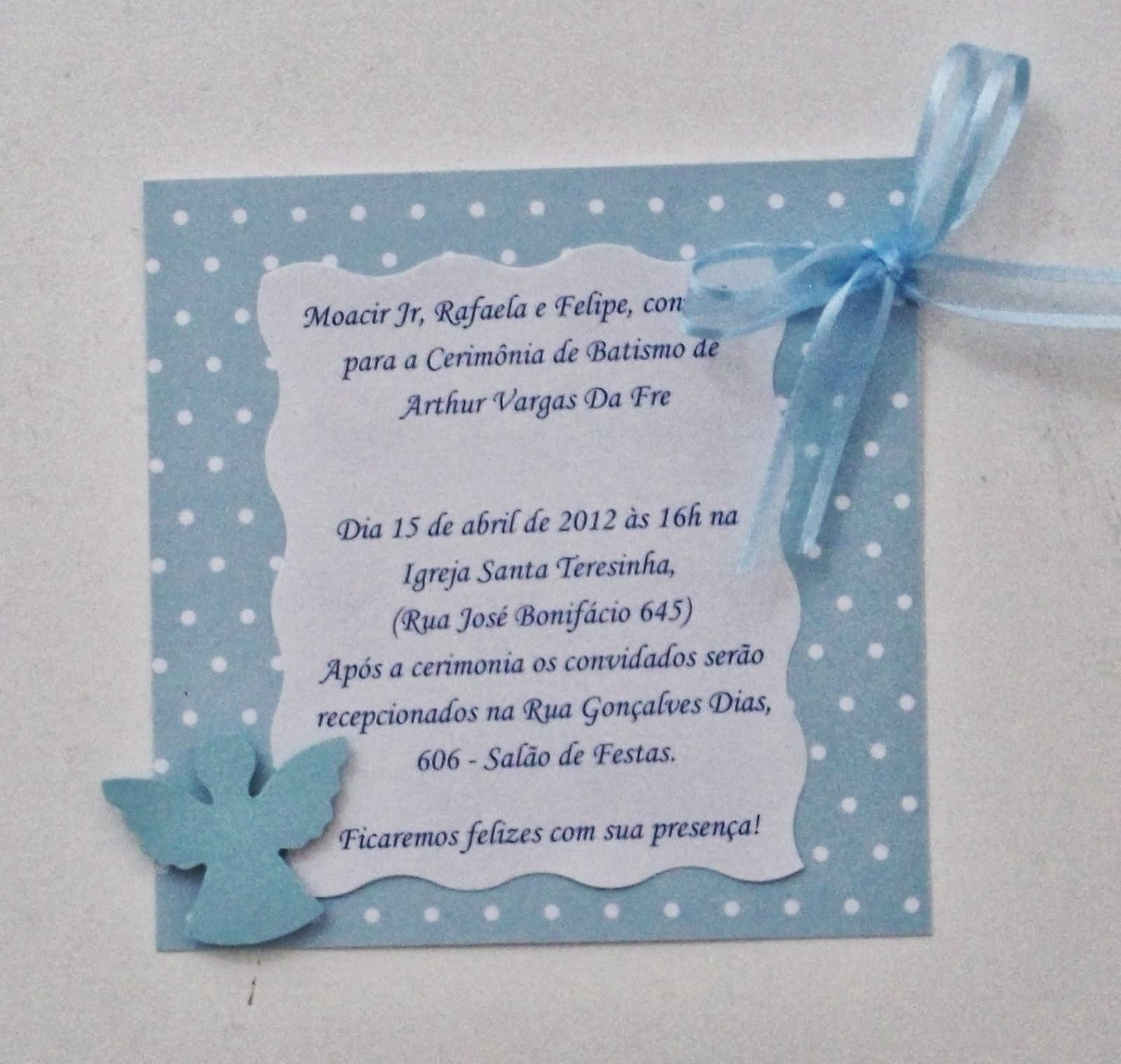 Convites para batizado papeleira maluca altavistaventures Gallery