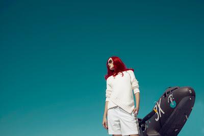 woman and airplane, jamie nelson photographer, fashion photographer nyc
