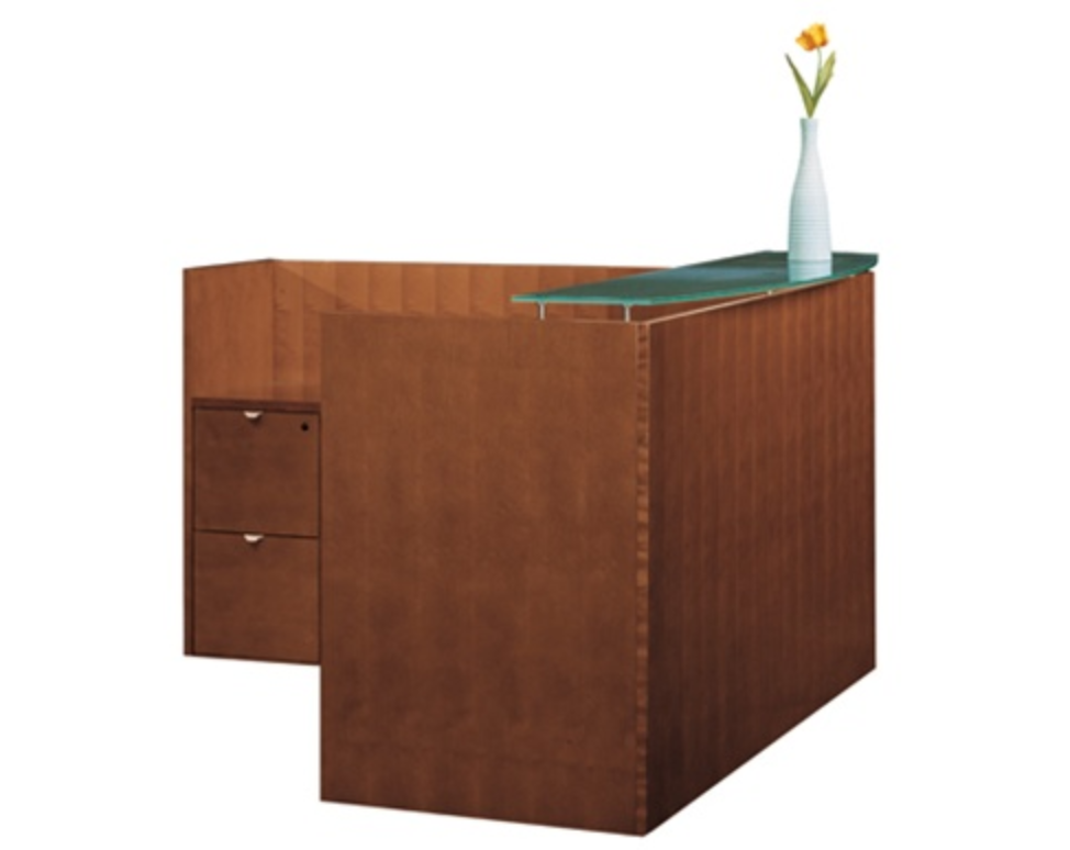 Cherryman Jade Collection Reception Desk