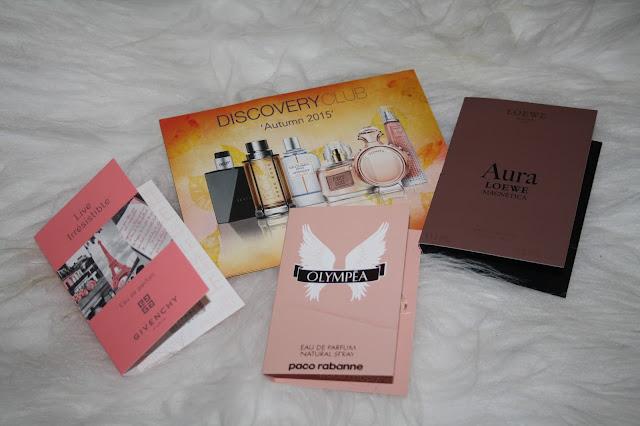 Fragrance Shop Discovery Club - Autumn Edition