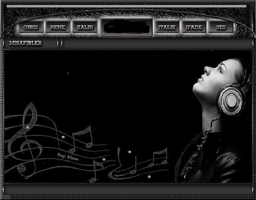 Flatcast Müzik Pınarı Teması By Efsun