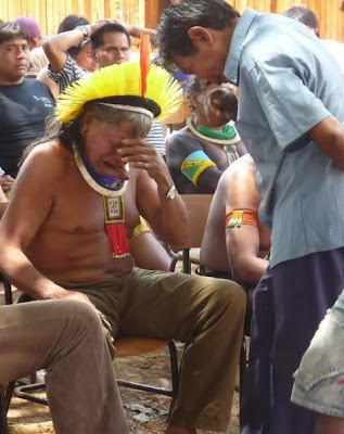 Chief Raoni of Kayapo People