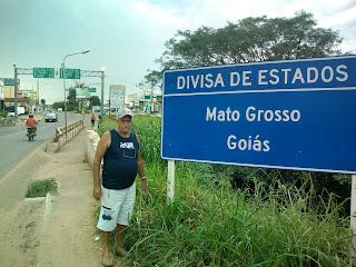 Divisa de Mato Grosso e Goiás
