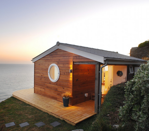 Tiny house love 13 small coastal cottages by the sea for Micro cottage