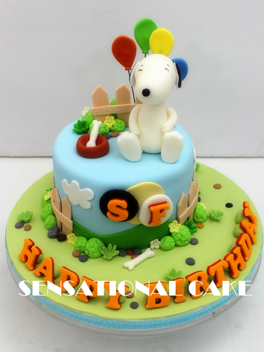 The Sensational Cakes SNOOPY CAKE SINGAPORE MINI CAKE SINGAPORE