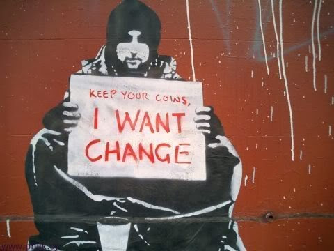 Image: Keep your coins, I want change - Meek