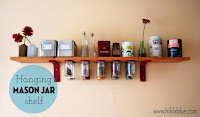 http://hildablue.com/2012/04/10/mason-jar-shelf-transparent-labels/