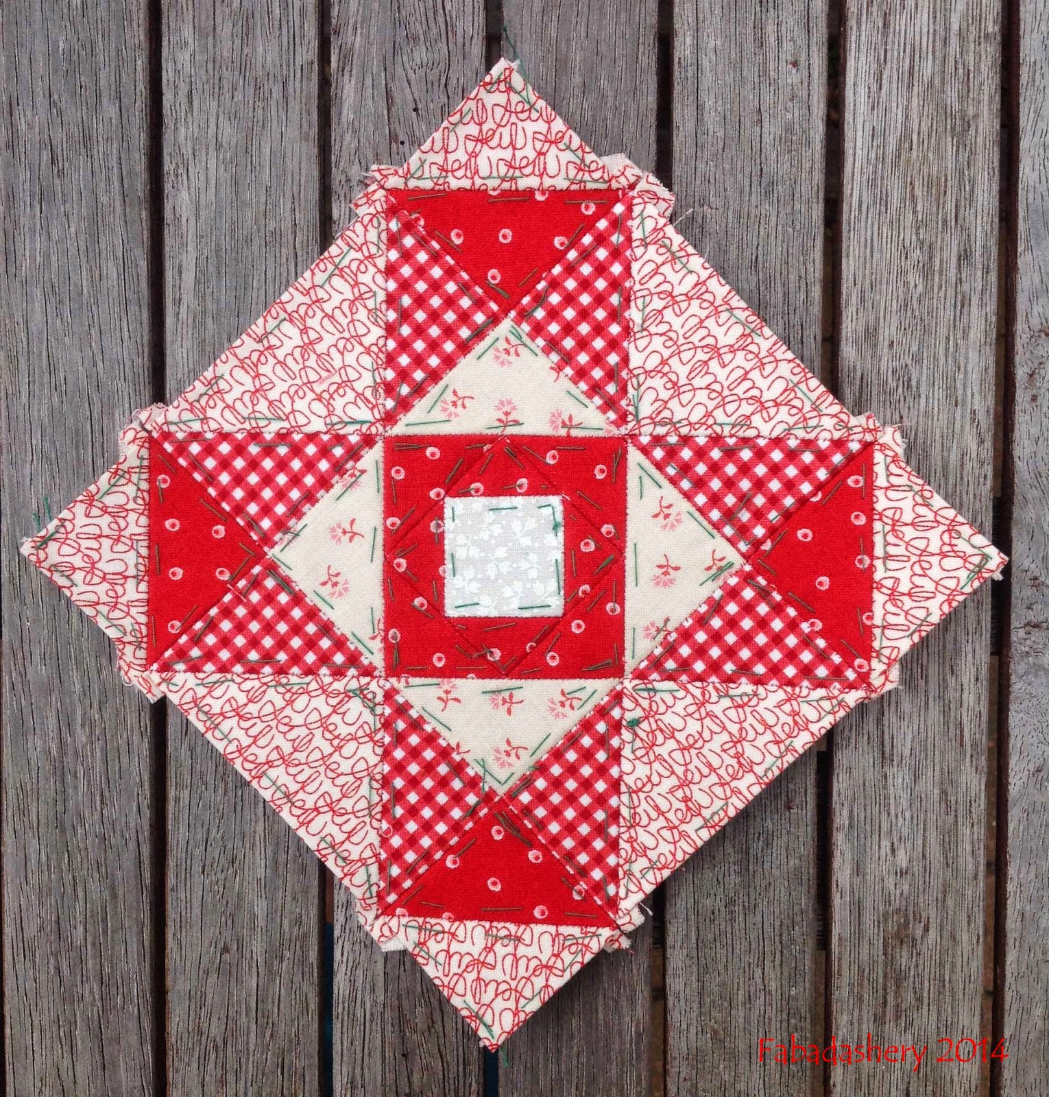 Nearly Insane Quilt block