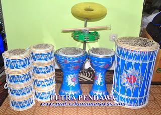 Paket Marawis Batik Biru