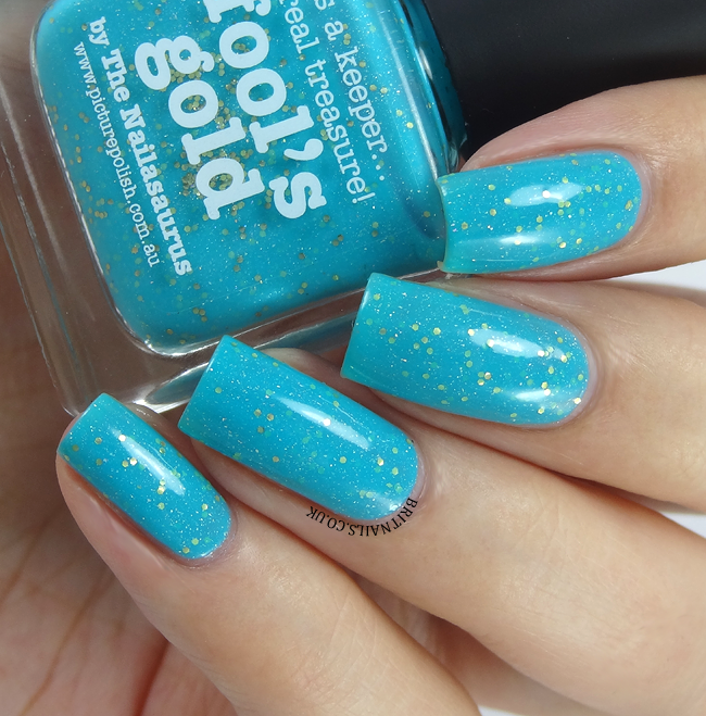 piCture pOlish Fools Gold