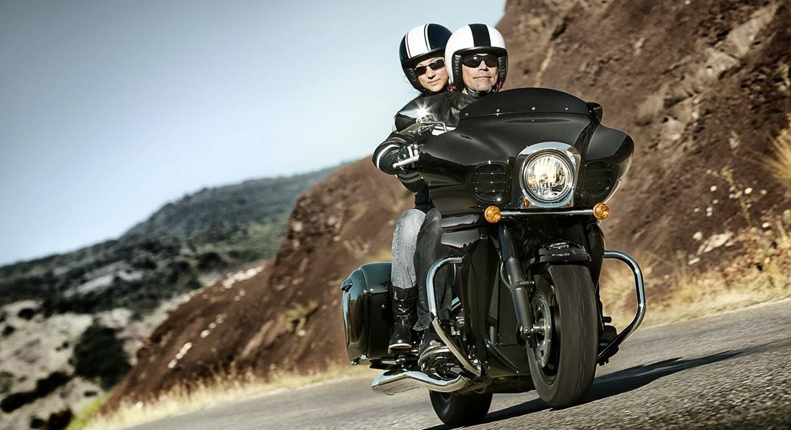 Kawasaki vn 1700 voyager used Motorcycle