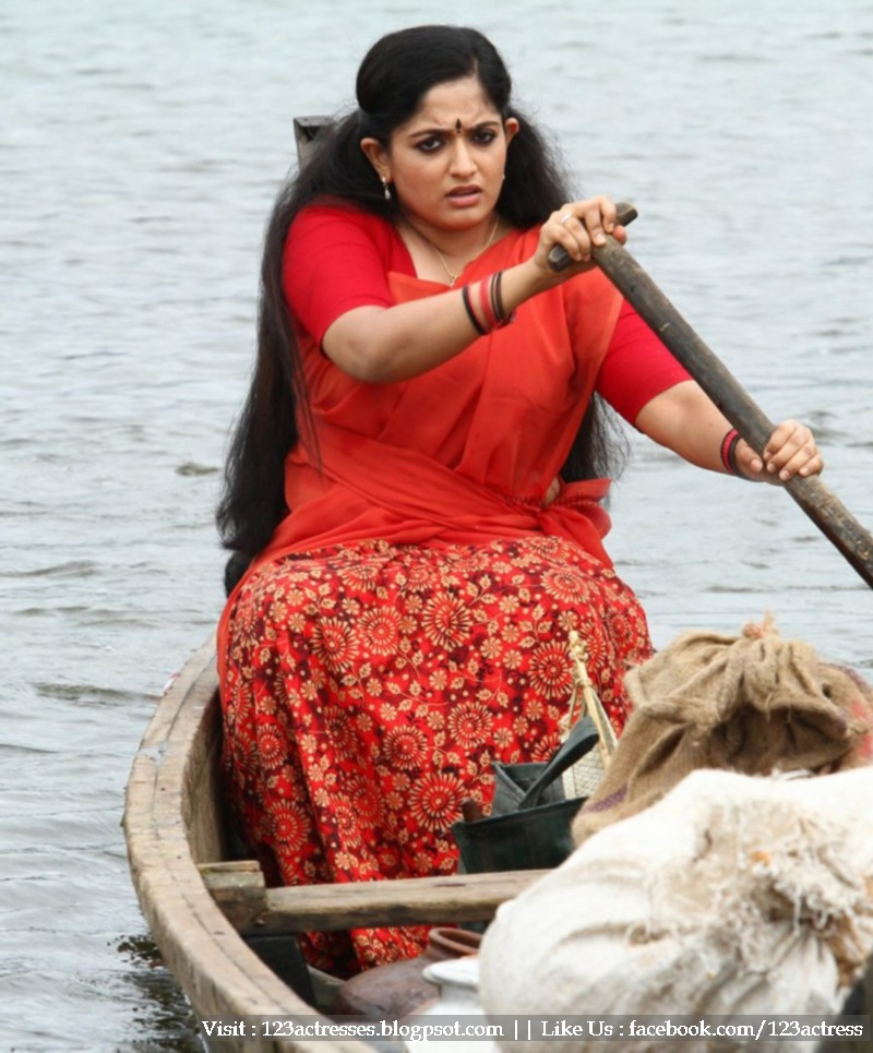 Kavya Madhavan in Black Saree Kavya Madhavan Half Saree