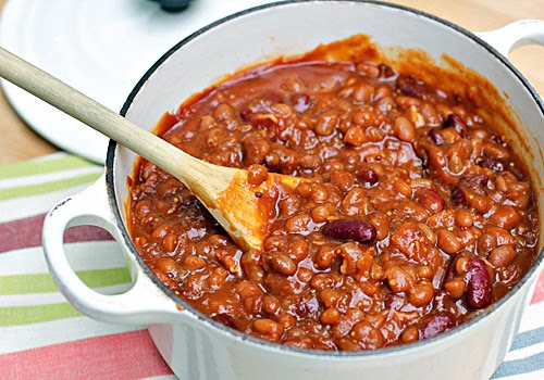 The Galley Gourmet: Stove-Top Baked Beans