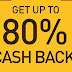 pay with Citrus Wallet get 80%cashback on various shopping sites
