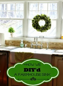{diy} Farm Sink