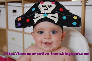 Gorro Pirata Nio