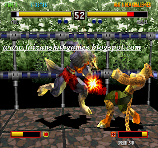 Bloody roar 2 characters