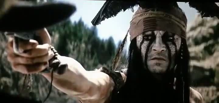 Screen Shot Of The Lone Ranger (2013) English Movie 300MB Short Size PC Movie