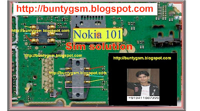 Nokia 100, Nokia 101 Insert Sim Card Jumper Solution By BuntyGSM