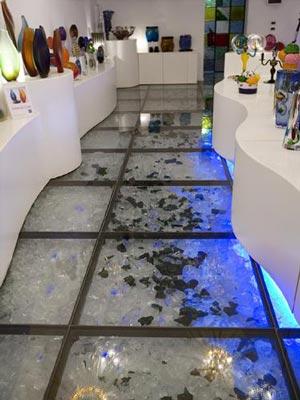 Suelos de vidrio ideas para decorar dise ar y mejorar - Suelos de cristal ...