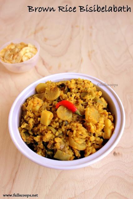 Brown Rice Bisibelabath
