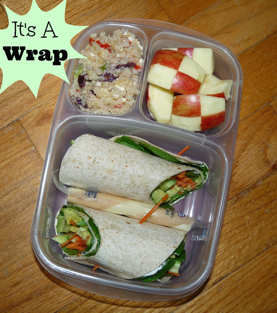 Wrap Bento Lunch